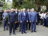 Беслан Эшба возложил цветы к могиле Юрия Воронова