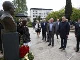 Мэр Сухума принял участие в мероприятиях, посвященных 75-летию со дня рождения генерала Сергея Дбар